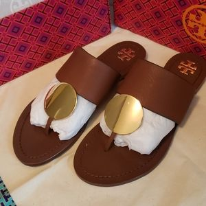Tory Burch Patos Disk Sandals Size 7